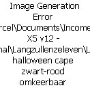 Halloween Heren Cape Dracula mt 54